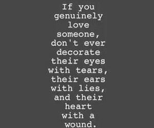love, quotes, and lies image