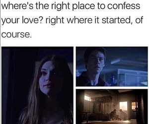 teen wolf, stydia, and lydia martin image