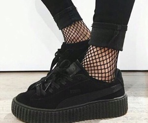 black, shoes, and puma image