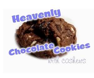 chocolate cookies and chocolate cookie recipe image