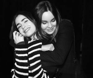 lily collins, liana liberato, and actress image