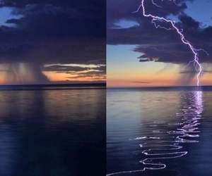 light, tumblr, and night image