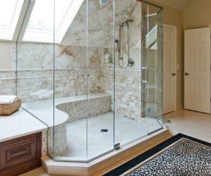 bathroom, luxury, and shower image