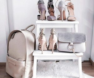 chic, fashion, and shoes heels image
