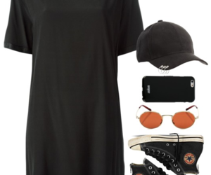 alternative, black, and outfit image