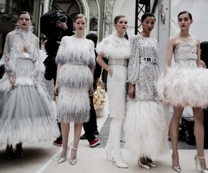 backstage, haute couture, and chanel image