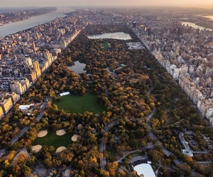 Central Park and travel image