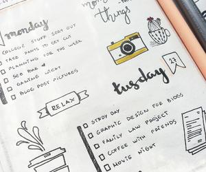 handwriting, journal, and journaling image