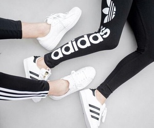 adidas, black, and tumbler image