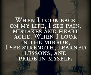 quote, life, and pain image