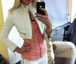 fashion, blonde, and iphone image