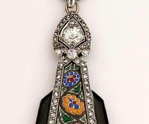 mosaico, collar, and moda image