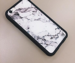 iphone, marble, and case image