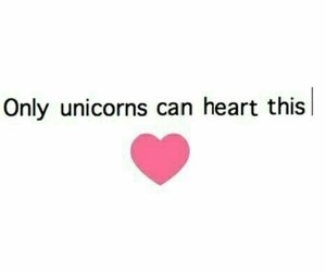 unicorn, heart, and hipster image