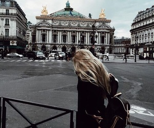 cities, girl, and urban image