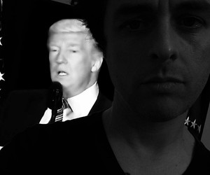 trump, greenday, and billiejoearmstrong image