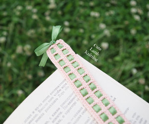 adorable, bookmark, and crochet image