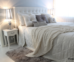 bed, bedroom, and interior design image