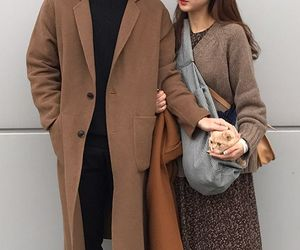 aesthetic, korean, and couple image