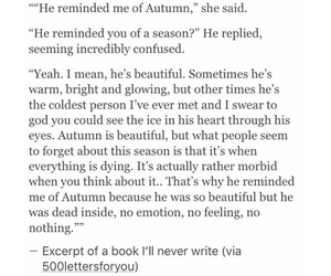autumn, heartbroken, and him image