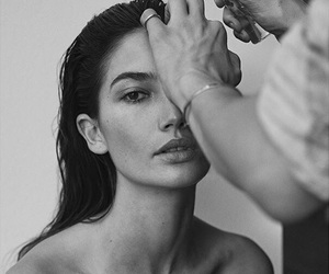 model, beauty, and Lily Aldridge image