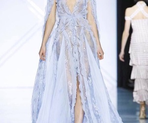 angel, beauty, and haute couture image