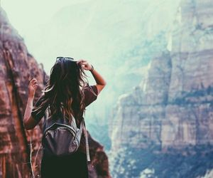 travel, adventure, and hair image