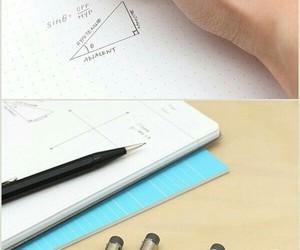 mechanical pencil, university, and school image