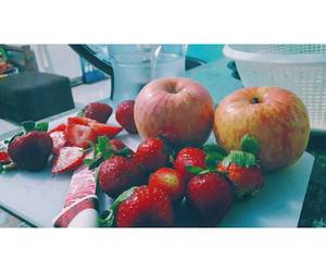 apples, cake, and healthyfood image