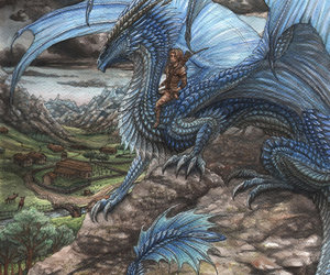 dessin, dragon, and eragon image