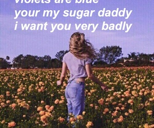 daddy, poems, and kinky image