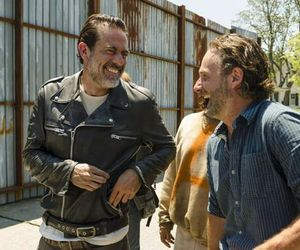 jeffrey dean morgan, andrew lincoln, and twd image
