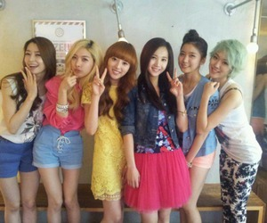 alice, lime, and yooyoung image