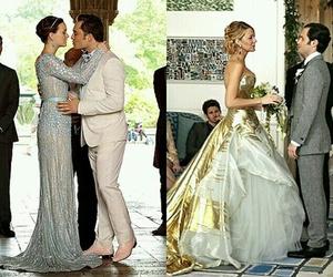 gossip girl, wedding, and blair waldorf image