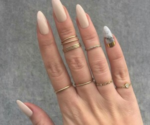 beautiful, rings, and femme image