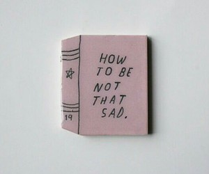 sad, book, and grunge image