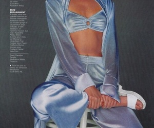 fashion, 90s, and blue image