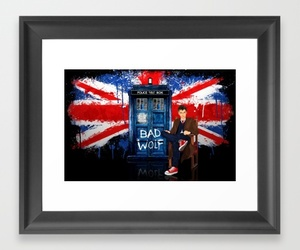 british flag, doctor who, and king image