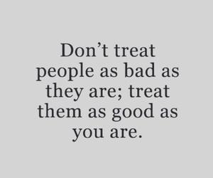 bad, good, and people image