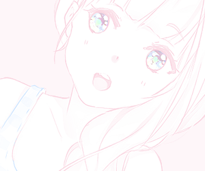 pink, anime, and pastel image
