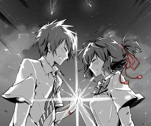 anime couple, kimi no na wa, and anime image