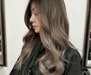 brown, brown hair, and hair image