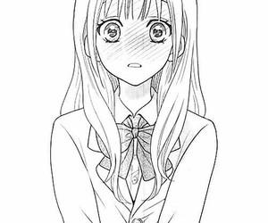 girl, manga, and kawaii image