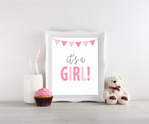 baby girl, etsy, and its a girl image