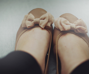 ballerinas, fashion, and feet image