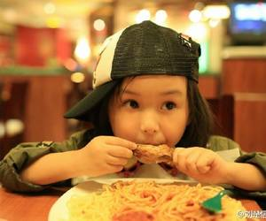 child, eating, and kid image