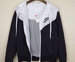 nike, jacket, and black image