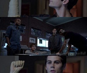 dylan, stiles, and teenwolf image