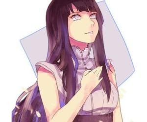 anime girl, naruto, and hinata image