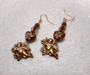 etsy, handmade earrings, and gifts for her image